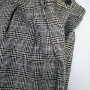 Pendleton Black & gray Plaid fully lined pants